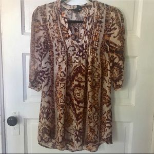 H&M Tunic with print